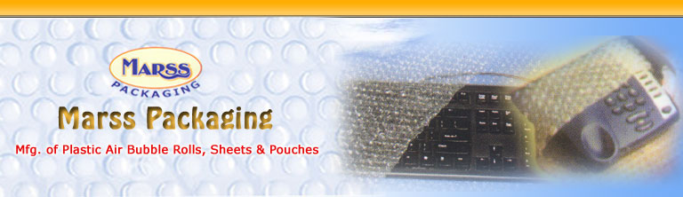 Specially Tailored Pouches, Laminated Bubble Sheets, Air Bubble Rolls & Pouches, Mumbai, India